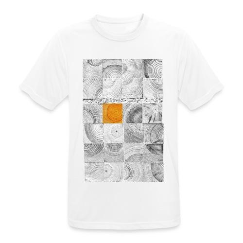 Cubes de Bois - T-shirt respirant Homme