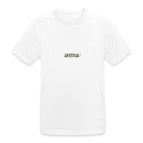 Serious - Männer T-Shirt atmungsaktiv