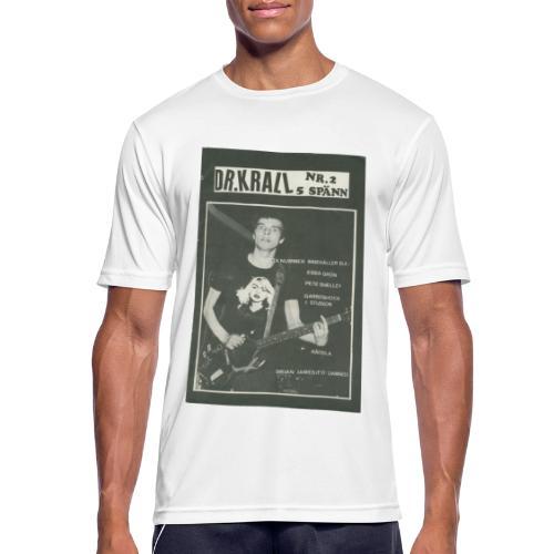 Svart Dr Krall - Andningsaktiv T-shirt herr