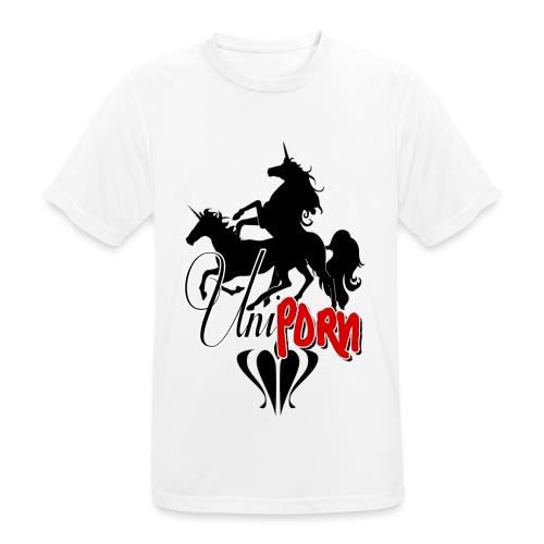 Uniporn - Männer T-Shirt atmungsaktiv