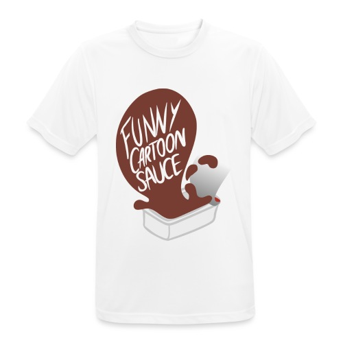 FUNNY CARTOON SAUCE - FEMALE - Men's Breathable T-Shirt