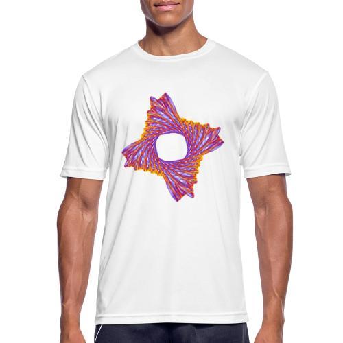 rotierendes Lebensfeuer 12162bry - Männer T-Shirt atmungsaktiv