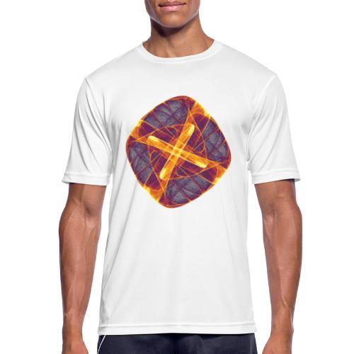 Chakra Mandala Mantra OM Chaos Stern Kreis 12255i - Männer T-Shirt atmungsaktiv