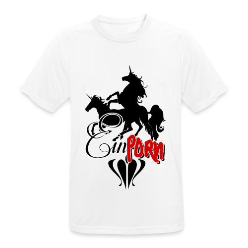 Einporn - Männer T-Shirt atmungsaktiv