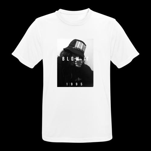 BLOW IT 1995 STREETWEAR - Maglietta da uomo traspirante