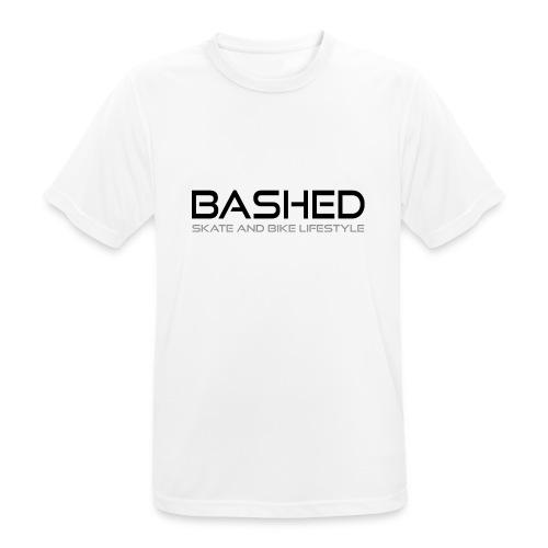 White iconic tee - Mannen T-shirt ademend actief
