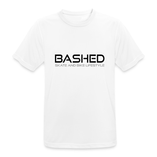 White iconic tee - mannen T-shirt ademend