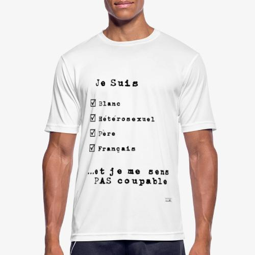 IDENTITAS Homme - T-shirt respirant Homme