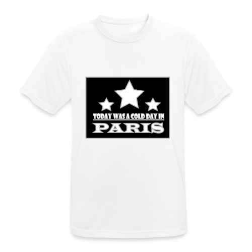 ColdParis - T-shirt respirant Homme
