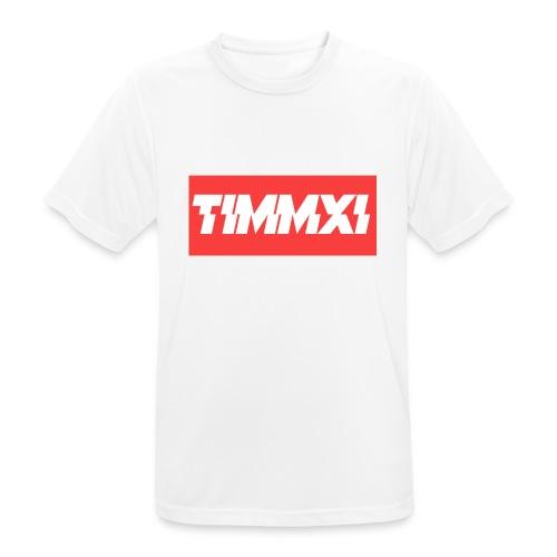 TimmXI T-shirt Zwart - mannen T-shirt ademend