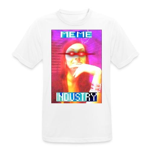 MEMEINDUSTRY - Männer T-Shirt atmungsaktiv
