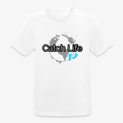 Catch Life Black - Men's Breathable T-Shirt