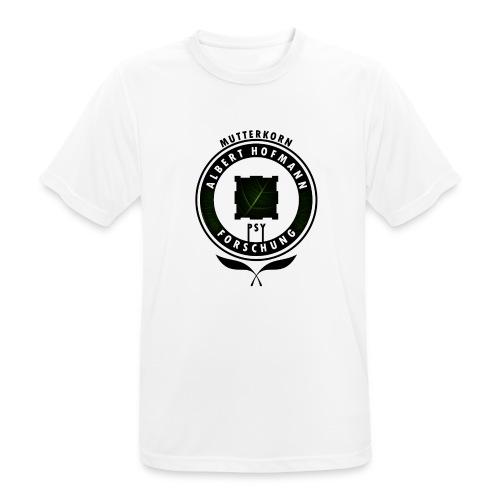AlbertHofmann_Forschung - Männer T-Shirt atmungsaktiv