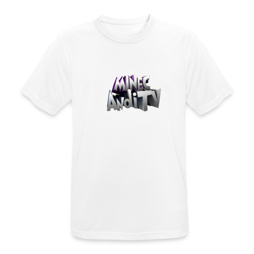 MinecAndiTV - Männer T-Shirt atmungsaktiv