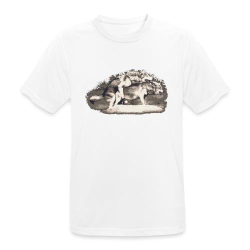 Wolf Loup Lupo Lobo - Men's Breathable T-Shirt
