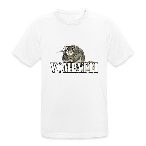 Vompatti - miesten tekninen t-paita
