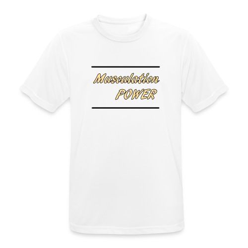 Musculation POWER HOMME - T-shirt respirant Homme