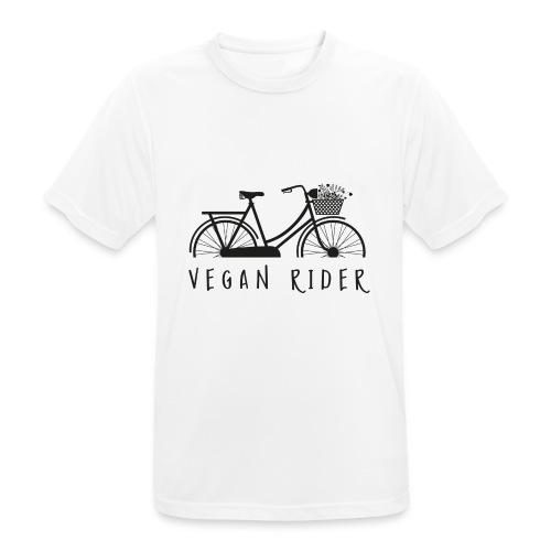 Vegan Rider - Männer T-Shirt atmungsaktiv