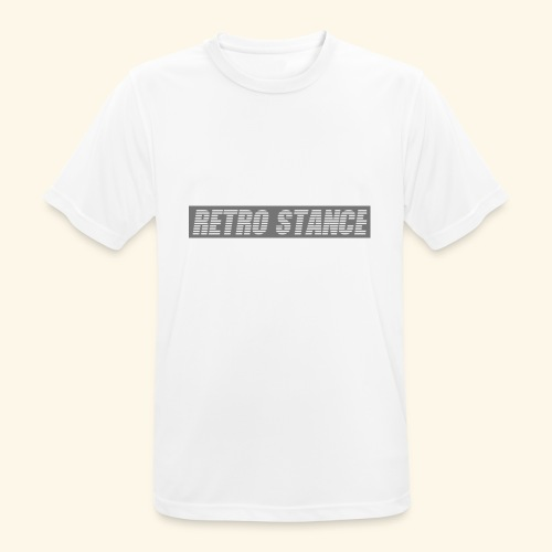 Retro Stance - Men's Breathable T-Shirt