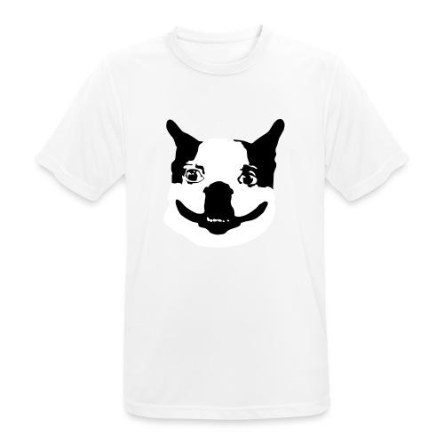 Lennu - Mustavalkoinen - miesten tekninen t-paita