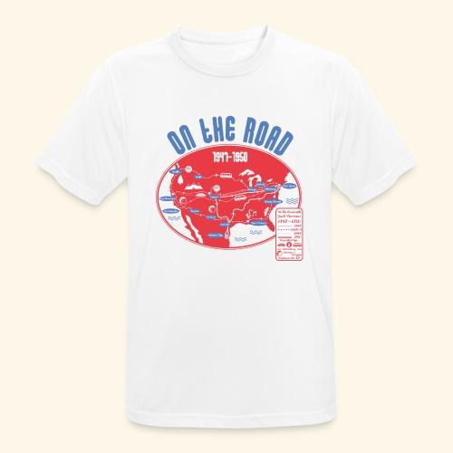TShirtOntheRoad copy - Camiseta hombre transpirable