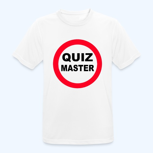 Quiz Master Stop Sign - Men's Breathable T-Shirt
