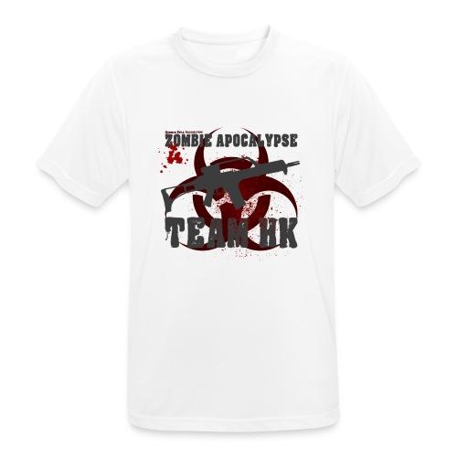 Zombie Apocalypse Team H&K - Männer T-Shirt atmungsaktiv