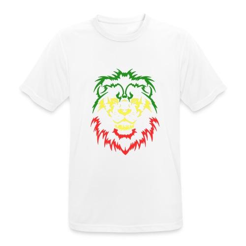 KARAVAAN Lion Reggae - mannen T-shirt ademend