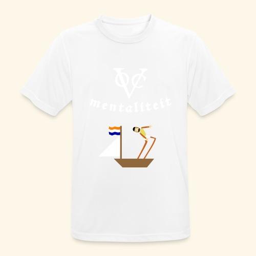 VOC-mentaliteit - Mannen T-shirt ademend actief