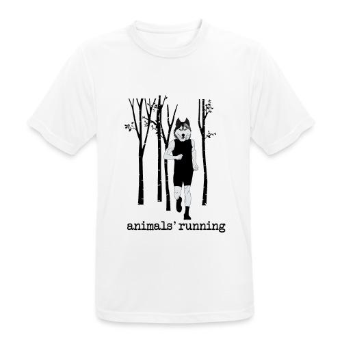 Loup running - T-shirt respirant Homme