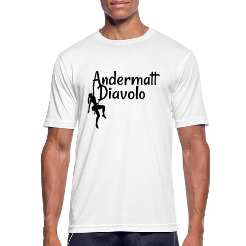 Andermatt Diavolo Uri Geschenkidee - Männer T-Shirt atmungsaktiv
