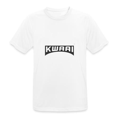 Kwaaiwear kleding - Mannen T-shirt ademend actief