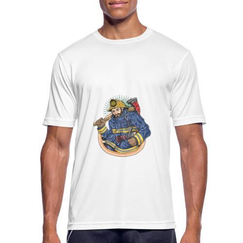Feuerwehrmann - Männer T-Shirt atmungsaktiv
