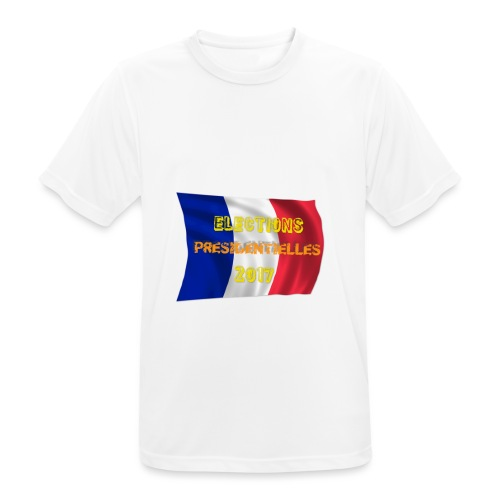 ELECTIONS 2017 - T-shirt respirant Homme