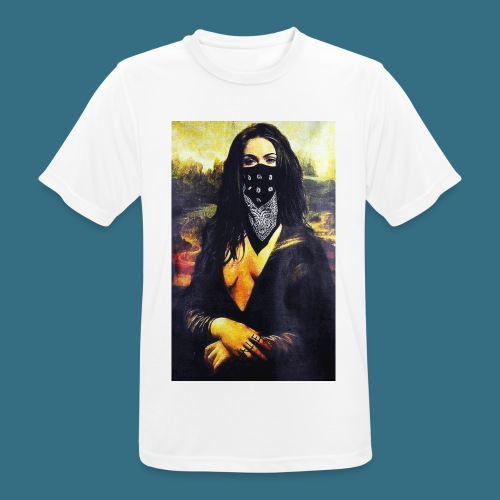 Mona Lisa Gangsta - Koszulka męska oddychająca