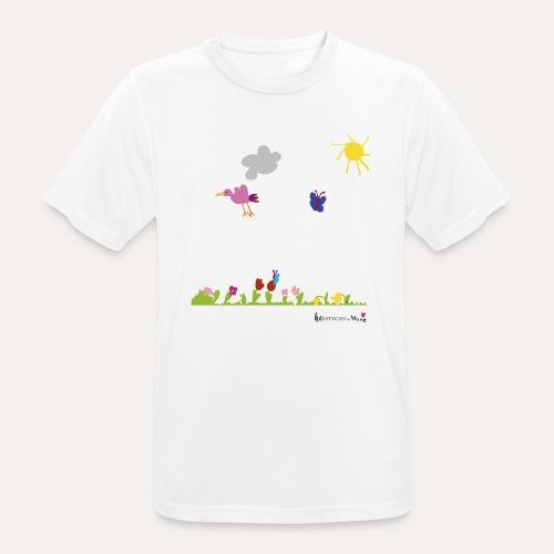 Blumenwiese von Marie - Männer T-Shirt atmungsaktiv