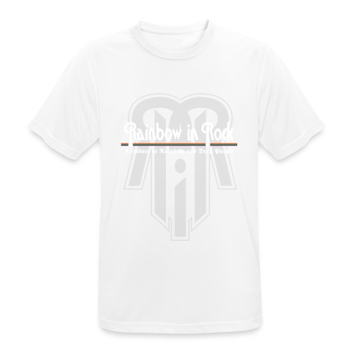 RIR LOGO GREY - Men's Breathable T-Shirt