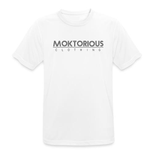 MOKTORIOUS CLOTHING - BLACK - VERTICAL - Männer T-Shirt atmungsaktiv