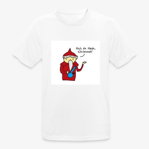 Wenn der Sandmännchen Ferien hat - Männer T-Shirt atmungsaktiv