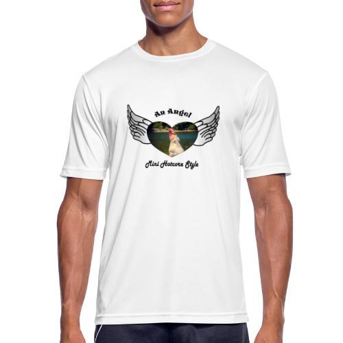 An Angel bunt - Männer T-Shirt atmungsaktiv