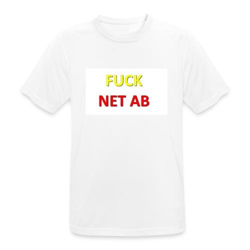 FUCK NET AB - Männer T-Shirt atmungsaktiv