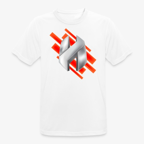 Abstract Red - Men's Breathable T-Shirt
