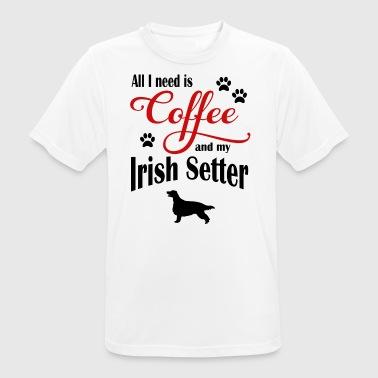 Setter Café - T-shirt respirant Homme