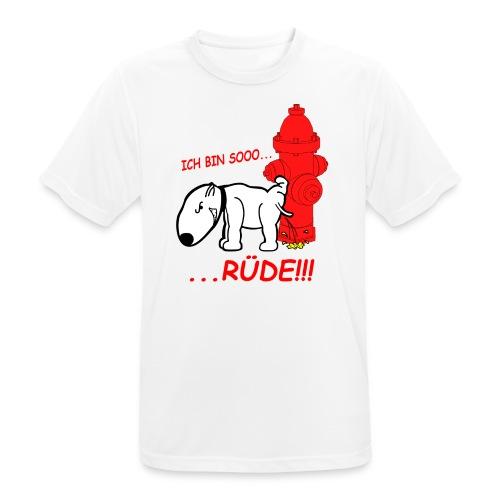 Rüden-Verhalten - Männer T-Shirt atmungsaktiv