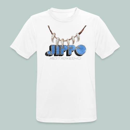 Jippomestari - miesten tekninen t-paita