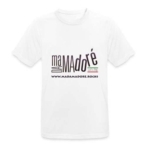 T-Shirt - Donna - Logo Standard + Sito - Maglietta da uomo traspirante