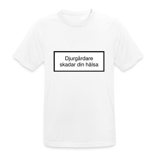 Djurgården Varningstext - Andningsaktiv T-shirt herr
