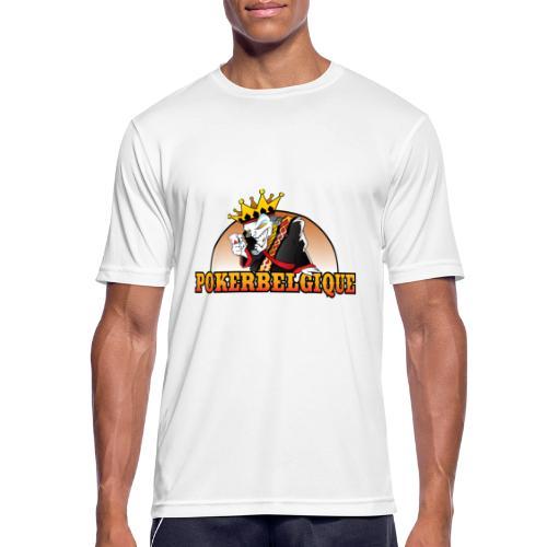 Logo Poker Belgique - T-shirt respirant Homme