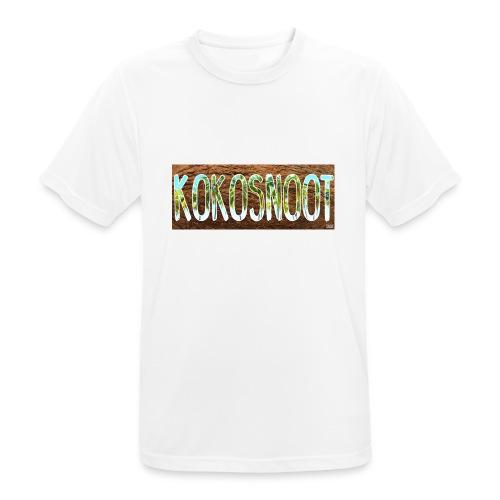 Kokosnoot - Mannen T-shirt ademend actief