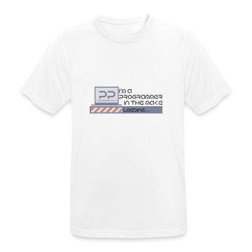 i m a programmer in the make - Mannen T-shirt ademend actief